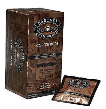 Baronet Coffee Fair Trade Organic Espresso Dark, 18 ct Coffee Pods, 3 pk