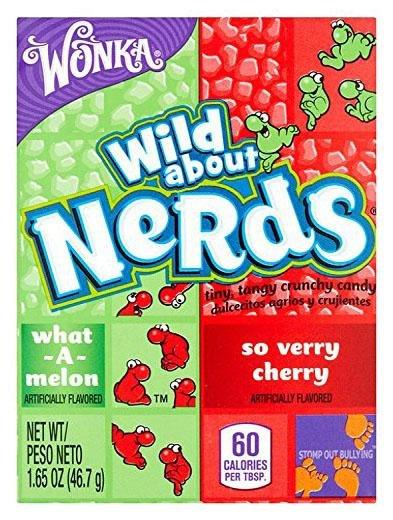 Wonka Nerds, Watermelon and Wild Cherry