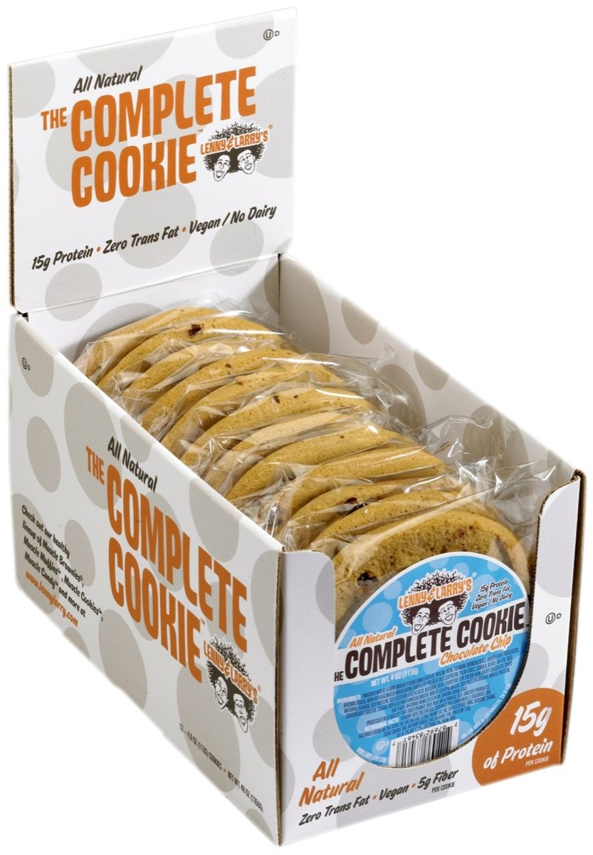 Lenny & Larry's The Vegan Complete Cookie Chocolate Chip 12 Cookies
