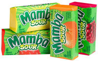 Mamba Sour Fruit Chews, 0.88 oz, 96 ct