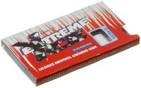 Gerrit's Extreme Ice Sugar Free Licorice Menthol Chewing Gum, 12 piece, 36 ct