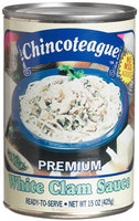 Chincoteague Seafood White Clam Sauce, 15 oz Cans, 12 ct
