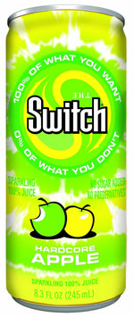 The Switch Hardcore Apple, 8.3 oz, 24 ct