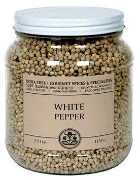 India Tree White Pepper, 2.5 lb