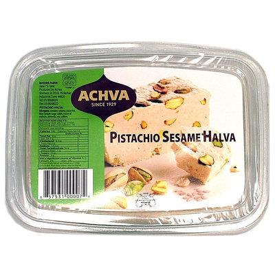 Achva Pistachio Sesame Halva - 12 pk.
