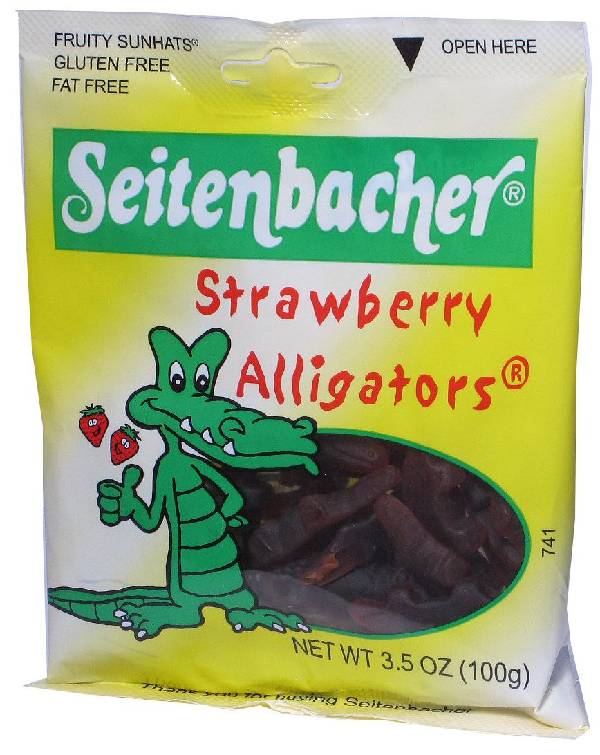 Seitenbacher Strawberry Gummi Alligators