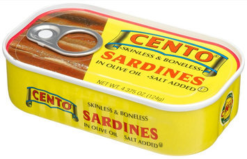 Cento Skinless & Boneless Sardines in Olive Oil
