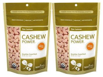 Navitas Naturals Really Raw Cashews, 16oz, 2pk