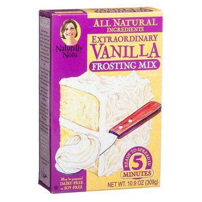 Naturally Nora Extraordinary Vanilla Frosting Mix - 6 pk.