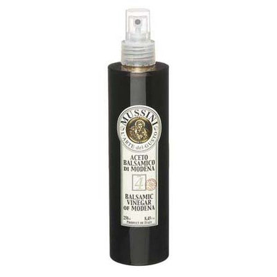 Mussini 4 Year Dark Spray, Balsamic Vinegar of Modena, 8.45 oz, 2 pk