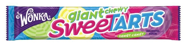 Wonka SweeTarts Giant Chewy, 1.5 oz Packets, 36 ct