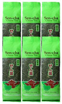 Yama Moto Yama Loose Sencha green tea, 7 oz Bags, 6 pk