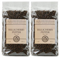 India Tree Tellicherry Pepper, 1 lb Bags, 2 pk