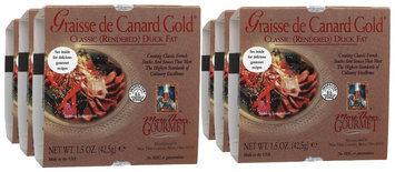 More Than Gourmet Graisse De Canard Gold Rendered Duck Fat, 1.5 oz, 6 pk