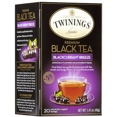 Twinings Tea Blackcurrant, 6 pk