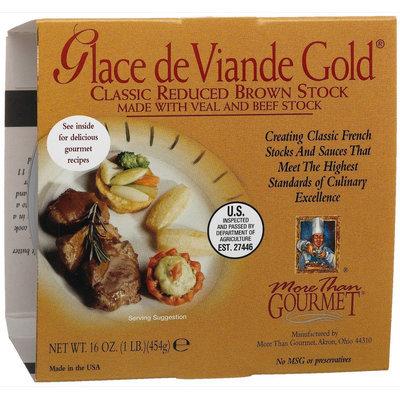 More Than Gourmet Glace De Viande Gold, Reduced Brown Stock