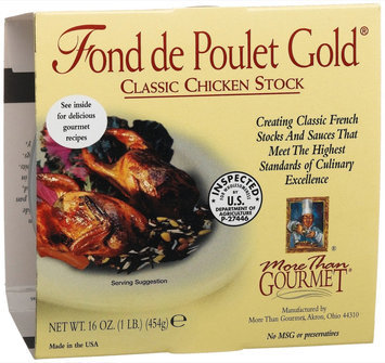 More Than Gourmet Fond De Poulet Gold, Chicken Stock