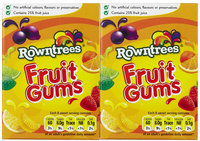 Rowntree's Fruit Gums, 4.9 oz, 2 pk