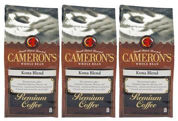 Cameron's Kona Blend Whole Bean Coffee-12 oz-Whole