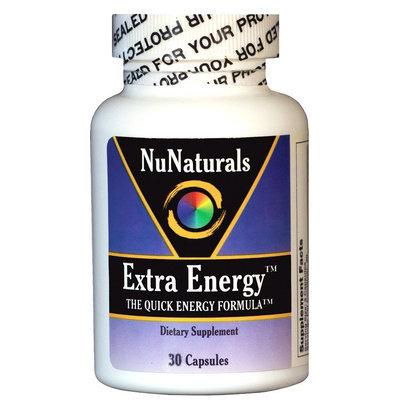 NuNaturals - Extra Energy Quick Energy Formula - 30 Capsules