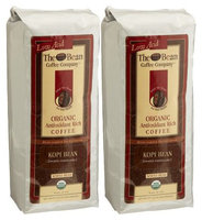 The Bean Coffee Company Kopi Bean Coffee (Sumatra Mandheling), Organic Whole Bean, 16 oz Bags, 2 pk