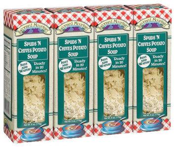 Leonard Mountain Spuds ' Chives Potato Soup, 6 oz Boxes, 4 pk