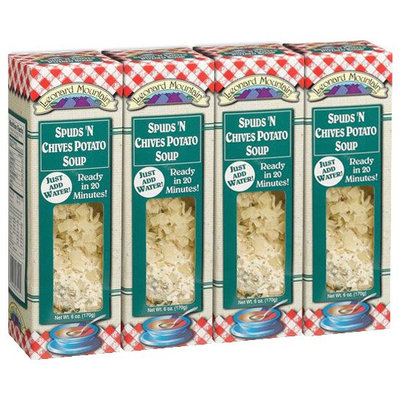 Leonard Mountain Spuds ' Chives Potato Soup, 6 oz Boxes, 4 pk