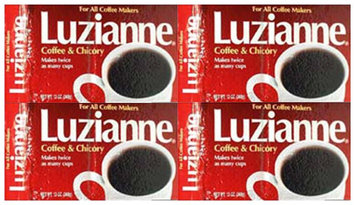 Luzianne Red Label Coffee & Chicory FAC, 13 oz pk, 4 pk