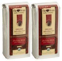 The Bean Coffee Company Holiday Bean (Vanilla Cinnamon Spice), Organic Ground, 16 oz Bags, 2 pk