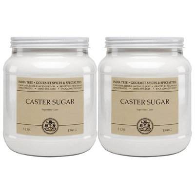 India Tree Caster Sugar - 2 pk.