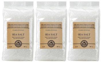 India Tree Coarse Sea Salt, 2 Pounds, 3 pk
