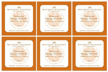 Naturopatch Of Vermont Citrus Fusion All Natural Energy Blend, 6 pk