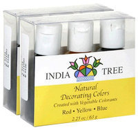 India Tree Natural Decorating Colors Set, 3 ct Packages 2.25 oz, 2 pk