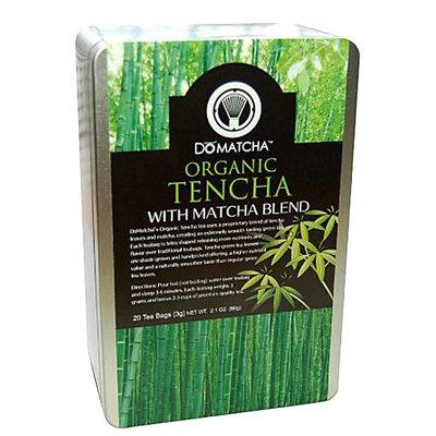 DoMatcha Green Tea, Organic Ten-Cha with Matcha Blend, 20 ct Tea Bags
