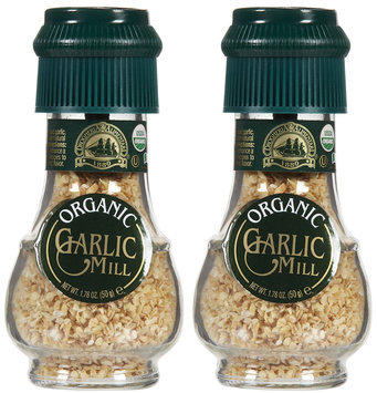 Drogheria & Alimentari Organic All Natural Spice Grinder Garlic, 1.76 oz, 2 pk