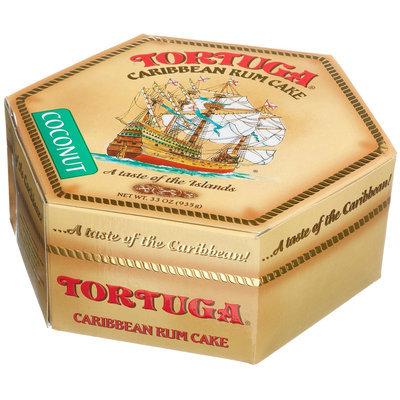 Tortuga Caribbean Rum Cake, Coconut, 33 oz Box