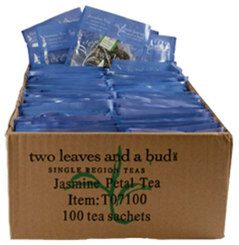 Two Leaves and a Bud Jasmine Petal Tea, Tea Bags, 100 ct