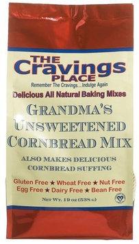The Cravings Place Grandmas Unsweetened Cornbread Mix - 19 oz - Vegan