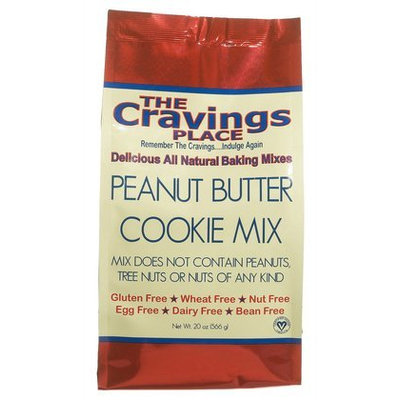 The Cravings Place Peanut Butter Cookie Mix, 20 oz, 6 pk