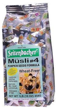 Seitenbacher All Natural Cereal #4 Musli Pumpkin Seed Formula - 16 oz