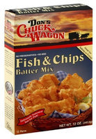 Don's Chuck Wagon Fish & Chips Batter Mix, 12 oz, 6 pk