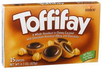 Toffifay Candy, 4.3 oz Packages, 12 pk