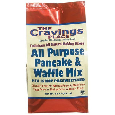 The Cravings Place All Purpose Pancake & Waffle Mix, 23 oz, 6 pk