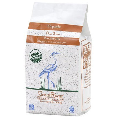 Great River Organic Milling Organic Pancake Mix, 32 oz, 4 pk