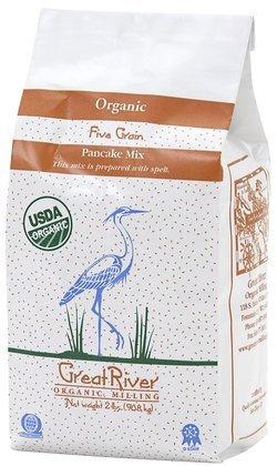 Great River Organic Milling Organic Pancake Mix, 32 oz, 4 pk