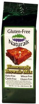 Gluten-Free Naturals Homemade Brownie Mix, 13.7 oz, 6 pk