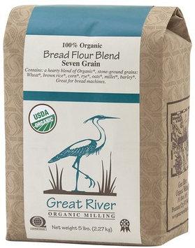 Great River Organic Milling Organic Bread Flour, 5 lb, 4 pk