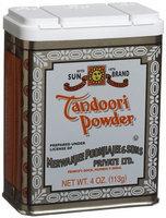 Sun Brand Tandoori Powder, 4 oz Tins, 12 pk
