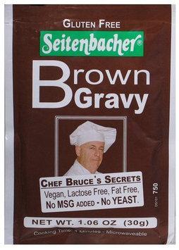 Seitenbacher Gluten-Free Brown Gravy Mix, 1.06 oz, 12 pk