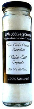 Whittingtons Flake Salt Crystals, 2.47 oz, 6 pk